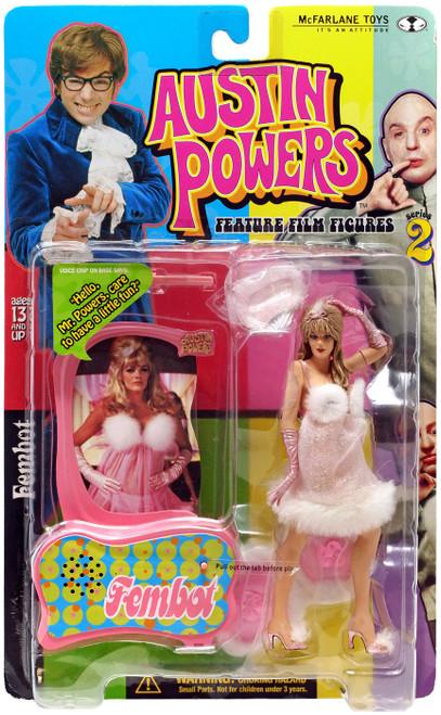 McFarlane Toys Austin Powers Series 2 Fembot Action Figure