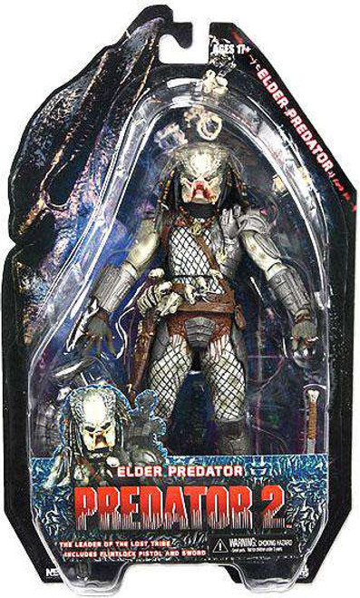 NECA Predator 2 Series 3 Elder Predator Action Figure [1st Version, Damaged Package]