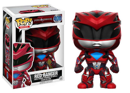 Funko Power Rangers POP! Movies Red Ranger Vinyl Figure #400 [Damaged Package]