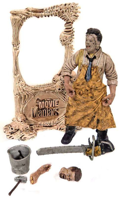 McFarlane Toys The Texas Chainsaw Massacre Movie Maniacs Series 1 Leatherface Action Figure [Loose]