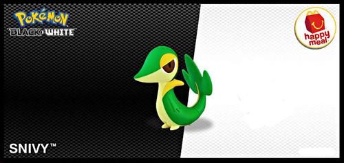 Pokemon Snivy Minifigure [Loose]
