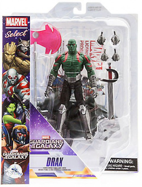 Guardians of the Galaxy Marvel Select Drax Exclusive Action Figure