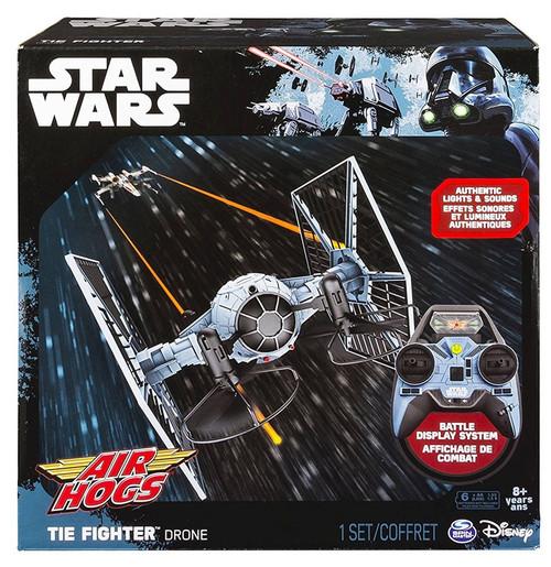 Star Wars Air Hogs Tie Fighter Drone Exclusive Remote Control