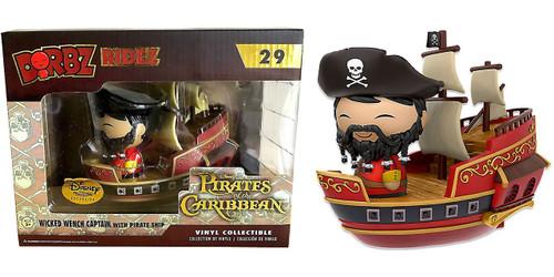 Funko Disney Dorbz Ridez Wicked Wench Captain with Pirate Ship Exclusive Vinyl Figure #29 [Pirates Cove]