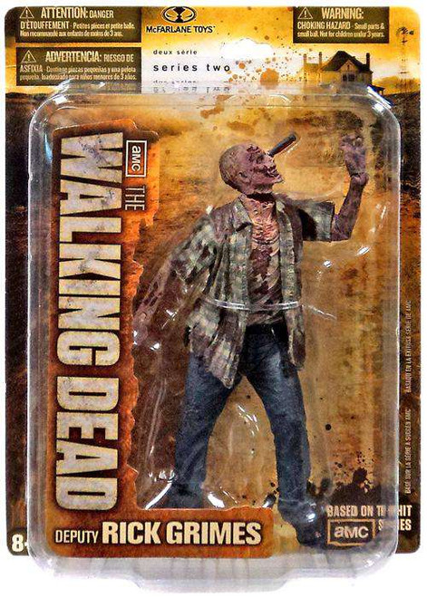 McFarlane Toys The Walking Dead AMC TV Series 2 RV Zombie Action Figure [Damaged Package]
