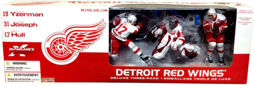 McFarlane Toys NHL Sports Picks Exclusive 3-Pack Detroit Red Wings Exclusive Action Figure 3-Pack [Damaged Package]