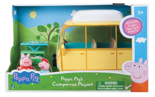 Peppa Pig's Campervan Playset [Damaged Package]