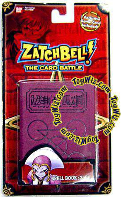Zatch Bell Card Battle Game Zofis' Magenta Spell Book [Loose]