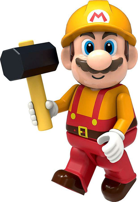 K'NEX Super Mario Maker Mario Minifigure [Loose]