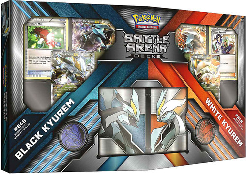 Pokemon Trading Card Game Black & White Black Kyurem vs White Kyurem 2-Player Battle Arena Decks