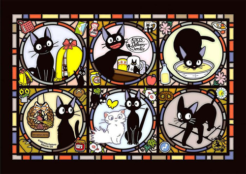 Studio Ghibli Artcrystal Kiki's Delivery Service Jiji Jigsaw Puzzle