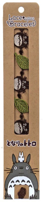 Studio Ghibli My Neighbor Totoro & Green Leaf Bracelet