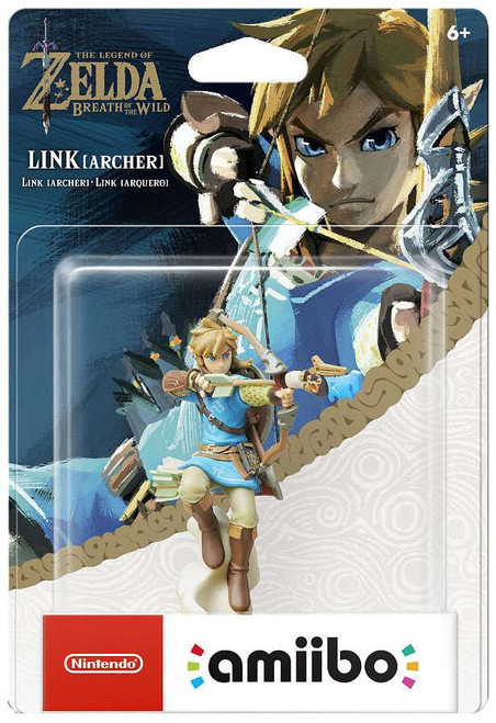 Nintendo Breath of the Wild Amiibo Link Mini Figure [Archer]
