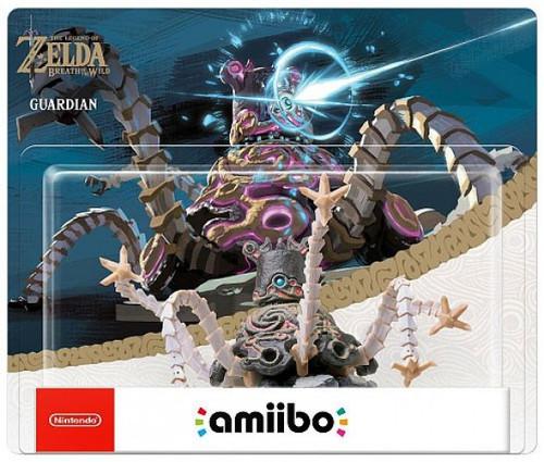 Nintendo Breath of the Wild Amiibo Guardian Mini Figure