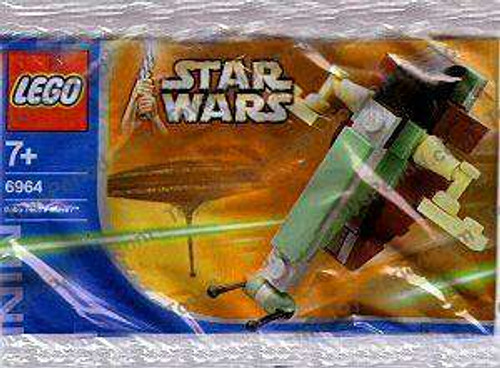 LEGO Star Wars The Empire Strikes Back Boba Fett's Slave 1 Mini Set #6964 [Bagged, Loose]