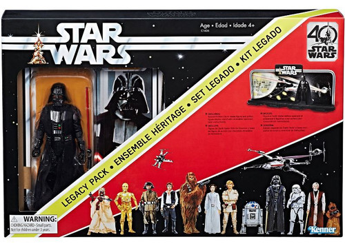 Star Wars A New Hope Black Series 40th Anniversary Darth Vader Legacy Pack Action Figure