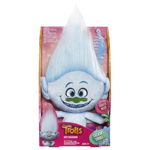 Trolls Talkin Guy Diamond 14-Inch Plush