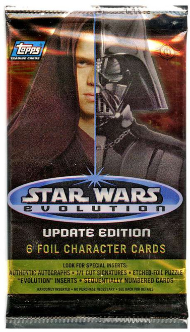 Topps Star Wars Evolution Update Edition Trading Card Pack