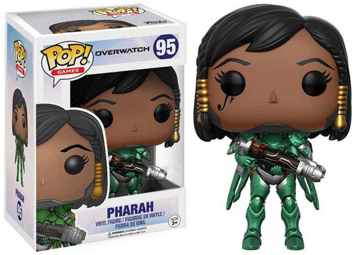 Funko Blizzard Overwatch POP! Games Pharah Exclusive Vinyl Figure #95 [Green]