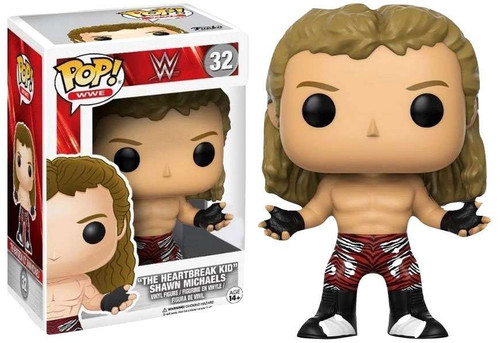 Funko WWE Wrestling POP! Sports Shawn Michaels Exclusive Vinyl Figure #32 [The Heartbreak Kid]