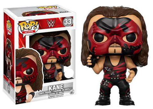 Funko WWE Wrestling POP! Sports Kane Exclusive Vinyl Figure #33