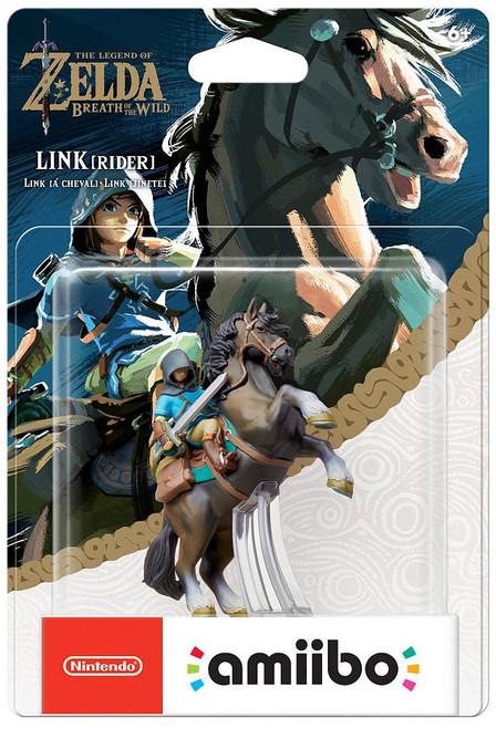 Nintendo Breath of the Wild Amiibo Link Mini Figure [Rider]