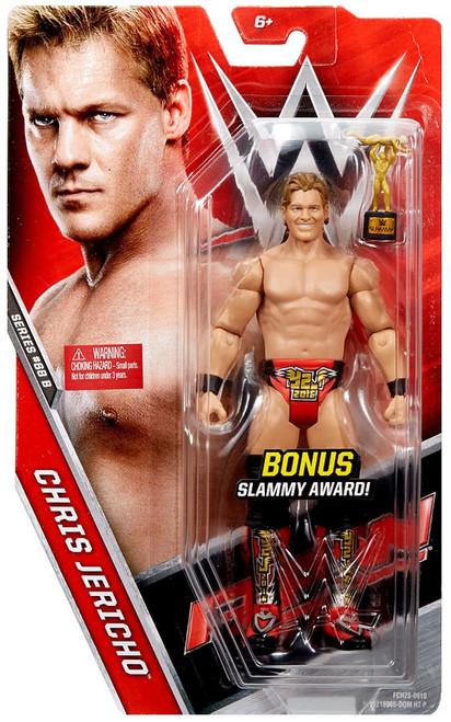 WWE Wrestling Series 68 Chris Jericho Action Figure [Bonus Slammy Award]