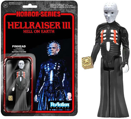 Funko Hellraiser Hell on Earth ReAction Pinhead Action Figure [Loose]