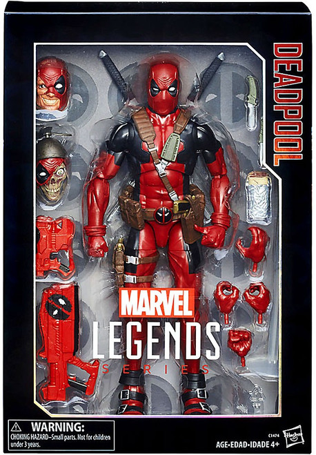 Marvel Legends Deadpool Deluxe Collector Action Figure