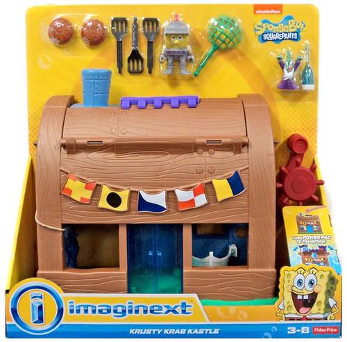 Fisher Price Spongebob Squarepants Imaginext Krusty Krab Kastle Set