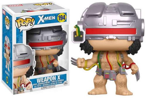 Funko X-Men POP! Marvel Weapon X Exclusive Vinyl Bobble Head #194