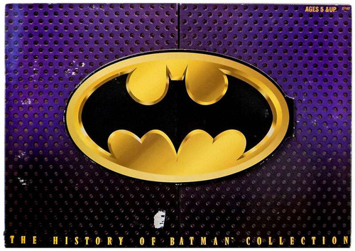 History of Batman Collection Action Figure 3-Pack [Package shows Wear from Storage]