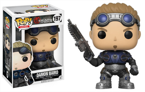 Funko Gears of War POP! Games Damon S. Baird Vinyl Figure #197