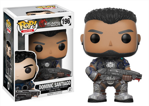 Funko Gears of War POP! Games Dominic Santiago Vinyl Figure #196