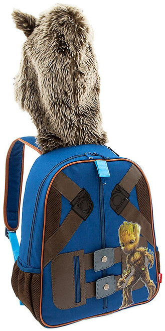 Marvel Guardians of the Galaxy Vol. 2 Rocket Raccoon Hooded Exclusive Backpack