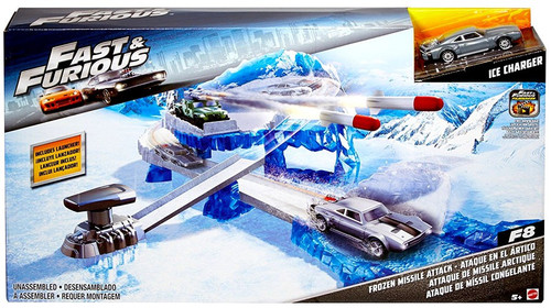 The Fast and the Furious F8 Frozen Missile Attack Playset [Ice Charger]