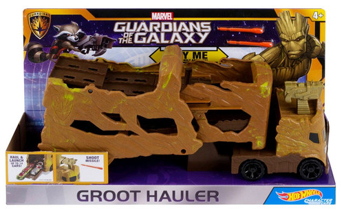 Marvel Guardians of the Galaxy Hot Wheels Groot Hauler Vehicle