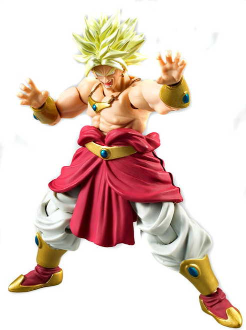 Dragon Ball Z Shokugan Shodo 5 Super Saiyan Broly PVC Figure