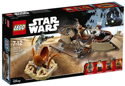 LEGO Disney Star Wars Desert Skiff Escape Exclusive Set #75174