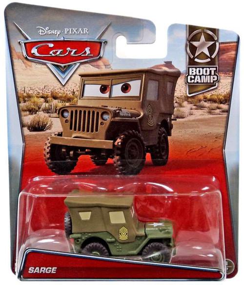 Disney / Pixar Cars Boot Camp Sarge Diecast Car #1/2