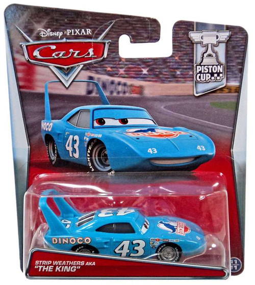 "Disney / Pixar Cars Piston Cup Strip Weathers AKA ""The King"" Diecast Car #11/11"