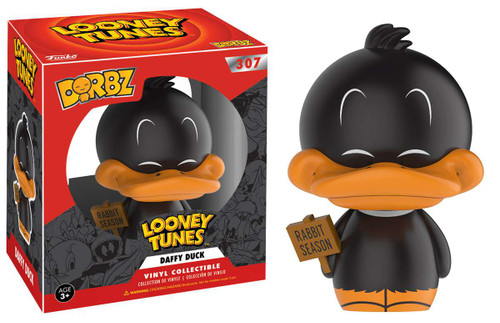 Funko Looney Tunes Dorbz Daffy Duck Vinyl Figure #307 [Wabbit Season Regular Version]