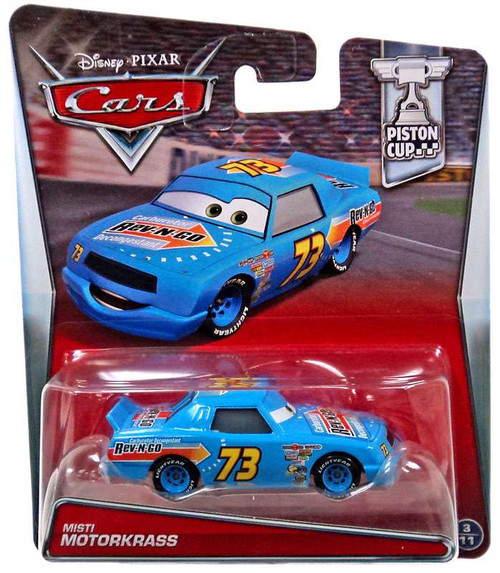 Disney / Pixar Cars Piston Cup Misti Motorkrass Diecast Car #3/11