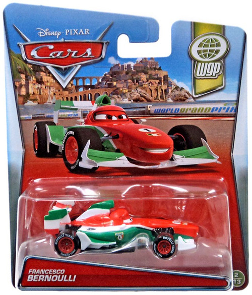 Disney / Pixar Cars WGP Francesco Bernoulli Diecast Car #2/13