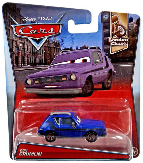 Disney / Pixar Cars London Chase Don Crumlin Diecast Car #8/11