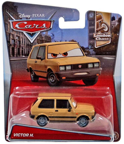 Disney / Pixar Cars London Chase Victor H. Diecast Car #6/11