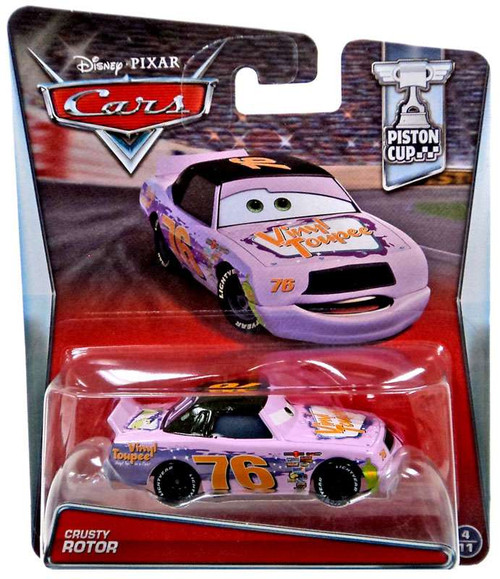 Disney / Pixar Cars Piston Cup Crusty Rotor Diecast Car #4/11