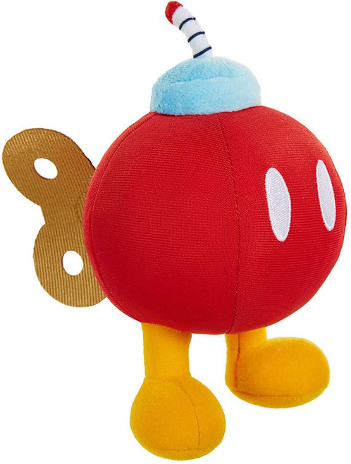 World of Nintendo Super Mario Red Bob-Omb Plush