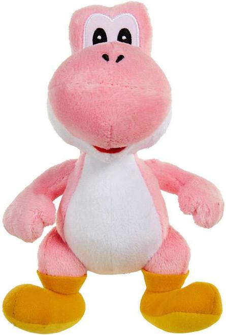 World of Nintendo Super Mario Pink Yoshi Plush