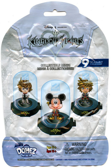 Domez Disney Kingdom Hearts Series 1 Mystery Pack [1 RANDOM Figure!]